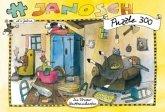 Janosch Puzzle, Die Bremer Stadtmusikanten, 300 Teile (Kinderpuzzle)