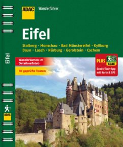 ADAC Wanderführer Eifel plus Gratis Tour App