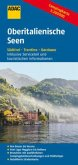 ADAC Karte Oberitalienische Seen, Campingkarte