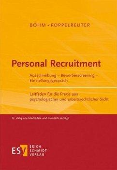 Personal Recruitment - Böhm, Wolfgang;Poppelreuter, Stefan