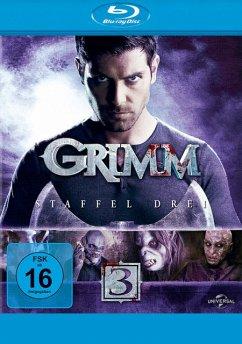Grimm - Staffel 3 BLU-RAY Box - David Giuntoli,Silas Weir Mitchell,Bitsie...