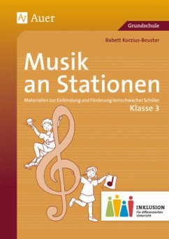 Musik an Stationen 3 Inklusion