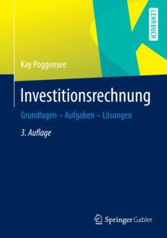 Investitionsrechnung - Poggensee, Kay