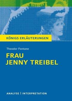 Frau Jenny Treibel. Königs Erläuterungen. (eBook, ePUB) - Fontane, Theodor; Lowsky, Martin