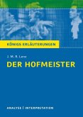 Der Hofmeister von J. M. R. Lenz. (eBook, ePUB)