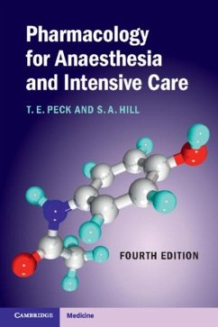 Pharmacology for Anaesthesia and Intensive Care (eBook, PDF) - Peck, T. E.
