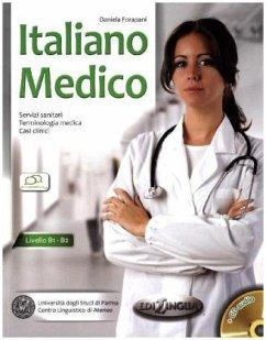Italiano medico, m. Audio-CD