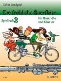Die fröhliche Querflöte, Spielbuch für 1-2 Flöten u. Klavier