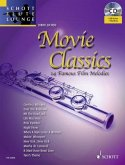 Movie Classics, für Flöte, m. Audio-CD, m. Klaviersatz