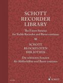 Schott Recorder Library, The Finest Sonatas for Treble Recorder and Basso continuo; Schott Blockflöten-Bibliothek, Die s