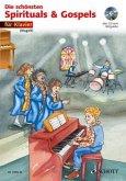 Die schönsten Spirituals & Gospels, für Klavier, m. Audio-CD