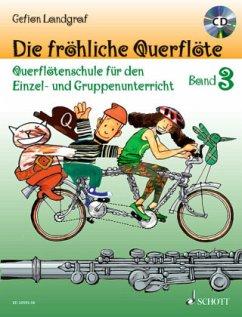 Die fröhliche Querflöte, m. Audio-CD