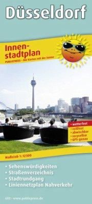 Innenstadtplan Düsseldorf