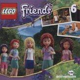 Das Dschungel-Abenteuer / LEGO Friends Bd.6 (Audio-CD)