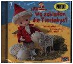 Unser Sandmännchen - Wo schlafen die Tierbabys?, 1 Audio-CD