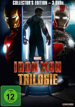 Iron Man Trilogie DVD-Box - Robert Downey Jr./Gwyneth Paltrow
