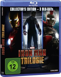 Iron Man Trilogie (Collector's Edition, 3 Discs) - Robert Downey Jr./Gwyneth Paltrow