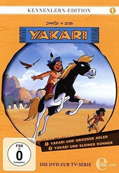yakari kennenlern edition 1 yakari und grosser adler yakari und kleiner film auf dvd. Black Bedroom Furniture Sets. Home Design Ideas