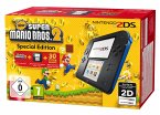Nintendo 2DS black + New Super Mario Bros.2 (vorinstalliert) - Limited Edition Pack