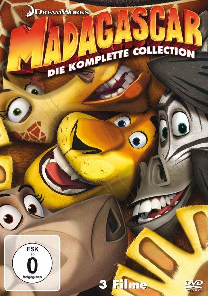 Madagascar / Madagascar 2 / Madagascar 3: Flucht durch Europa (3 Discs)