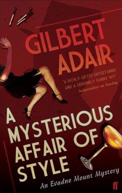 A Mysterious Affair of Style (eBook, ePUB) - Adair, Gilbert