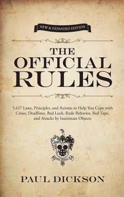 The Official Rules (eBook, ePUB) - Dickson, Paul