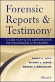 Forensic Reports and Testimony (eBook, ePUB)