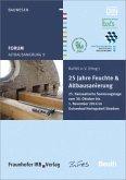 Forum Altbausanierung 9. 25 Jahre Feuchte und Altbausanierung