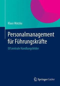 Personalmanagement für Führungskräfte