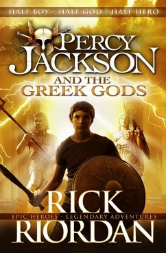 Percy Jackson and the Greek Gods - Riordan, Rick