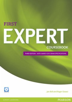 Coursebook with Audio-CD / Expert First, Third Edition