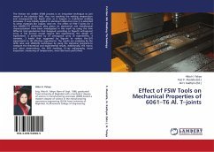 Effect of FSW Tools on Mechanical Properties of 6061-T6 Al. T-joints