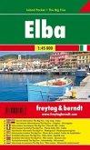 Freytag & Berndt Autokarte Elba, Island Pocket