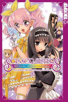 Buch-Reihe Scissor Sisters