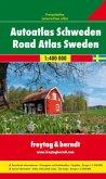 Freytag & Berndt Atlas Autoatlas Schweden; Road Atlas Sweden
