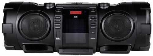 JVC RV-NB 100 tragbarer CD Player schwarz - buecher.de