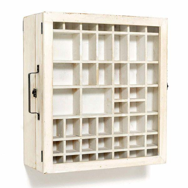 Wandschrank tray wei for Wandschrank weiss