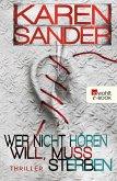 Wer nicht hören will, muss sterben / Stadler & Montario Bd.2 (eBook, ePUB)