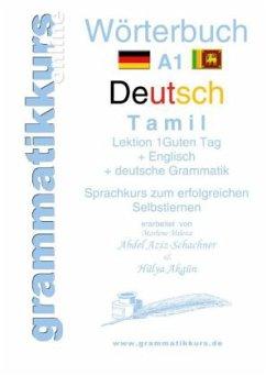 Wörterbuch Deutsch - Tamil Englisch A1 Lektion 1