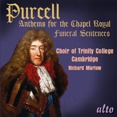 Anthems For The Chapel Royal - Marlow/Choir Of Trinity College Cambridge