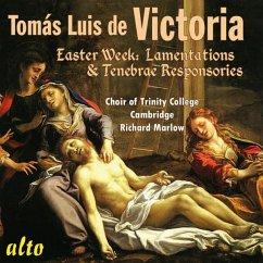 Lamentationes/Tenebrae Responsorien - Marlow/Choir Of Trinity College Cambridge