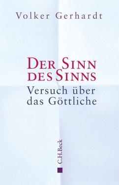 Der Sinn des Sinns (eBook, ePUB) - Gerhardt, Volker