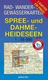 Rad-, Wander- & Gewässerkarten Dahme-Spree; Dahme-Seen, Königs Wusterhausen, Teupitz; Storkower Gewässer, Scharmützelsee