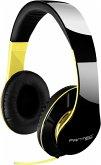 FANTEC SHP-250AJ On-Ear Kopfhörer schwarz/neongelb