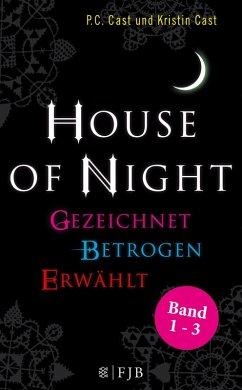 »House of Night« Paket 1 (Band 1-3) (eBook, ePUB) - Cast, Kristin; Cast, P. C.
