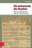Die Autonomie der Routine (eBook, PDF)
