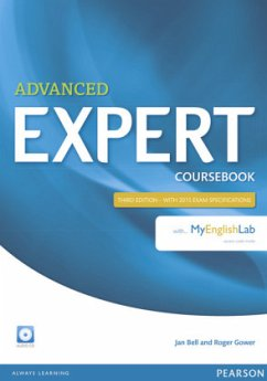Expert Advanced Coursebook with Audio CD and MyEnglishLab Pack - Bell, Jan; Gower, Roger