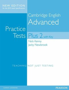 Cambridge Advanced Practice Tests Plus New Edition Students' Book with Key - Kenny, Nick; Newbrook, Jacky