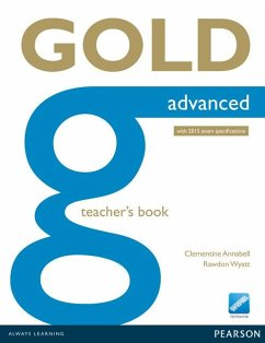 Gold Advanced Teacher's Book - Annabell, Clementine