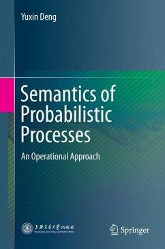 Semantics of Probabilistic Processes - Deng, Yuxin